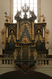 The Baroque Golden Age, the oldest organ in Prague Mundt 1673, Tyn church, Old CIty of Prague